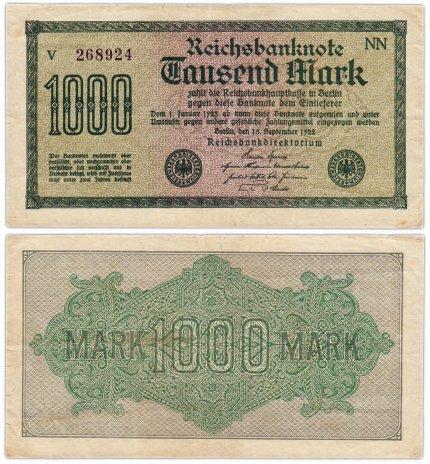 купить Германия 1000 марок 1922 Pick 76d(1)