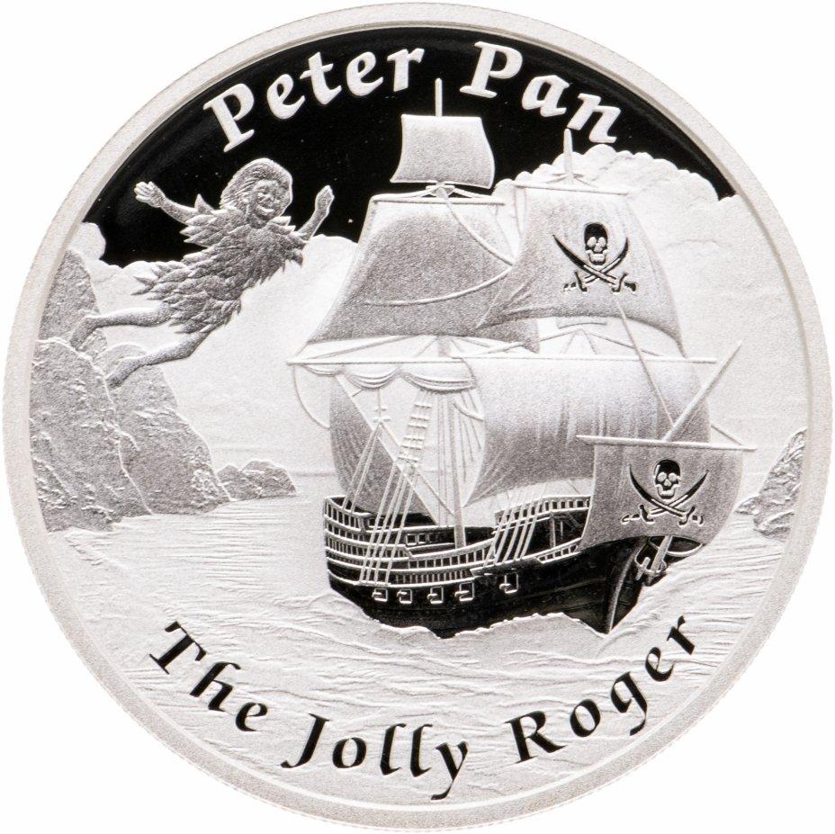 купить Тувалу 1 доллар 2014 «Знаменитые корабли,которые никогда не плавали-Питер Пэн»