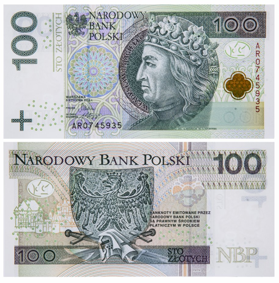 купить Польша 100 злотых 2012 (Pick 186a)