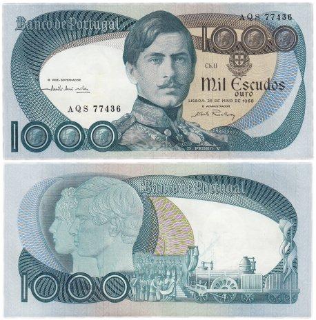 купить Португалия 1000 эскудо 1968 (Pick 175a) (28.05.1968)