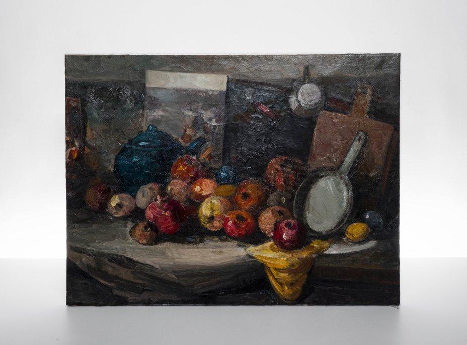"купить Картина ""Натюрморт"", холст, масло, художник Рахман Шихалиев, Азербайджан, 2005 г."