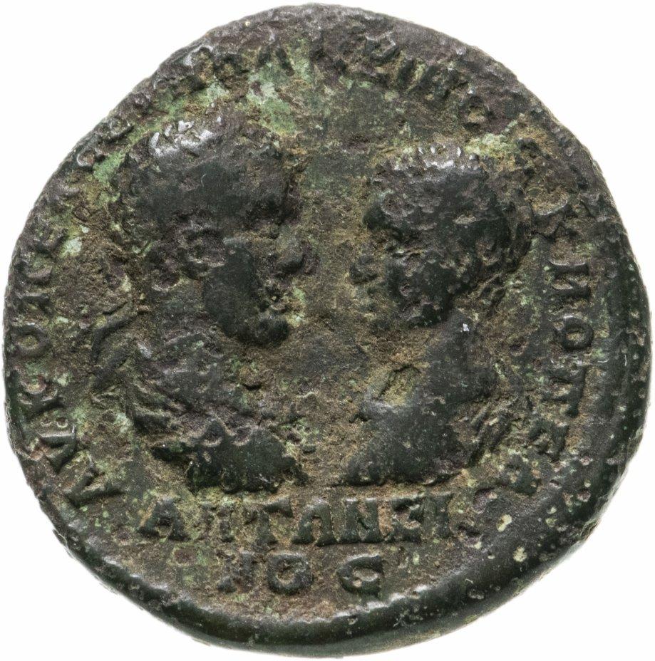 купить Римская империя, провинция Нижняя Мезия, Макрин и его сын Диадумениан, 217-218 годы, Пентассарий.