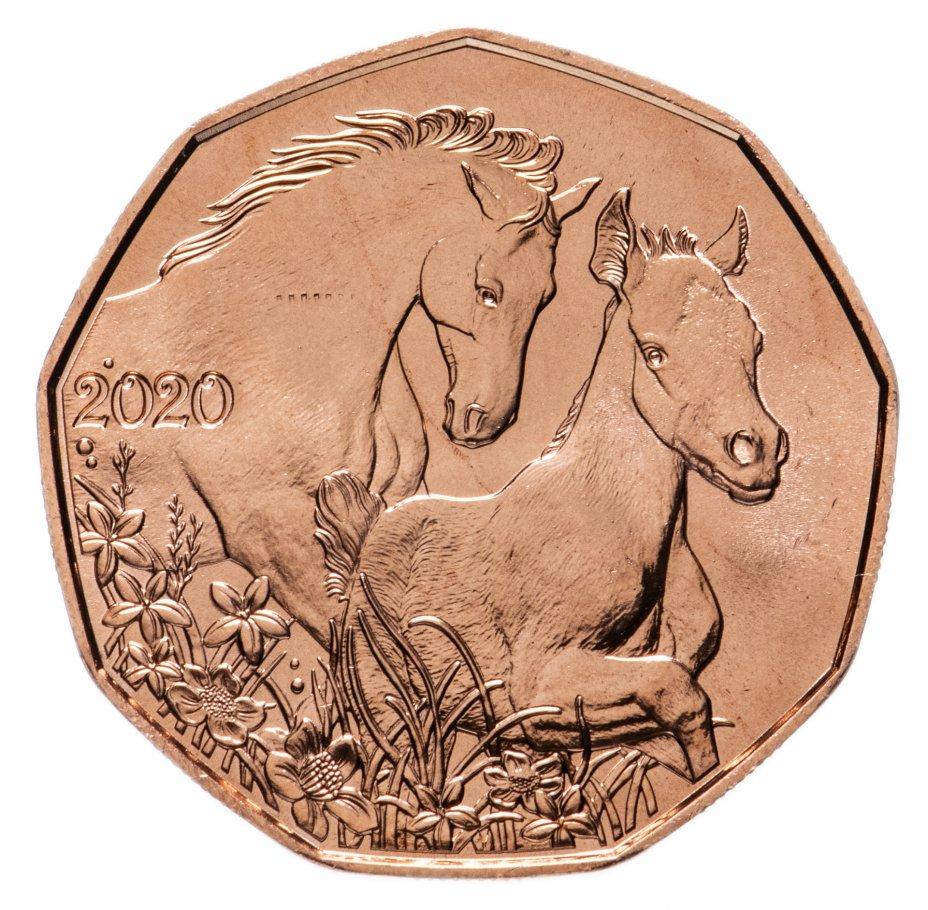 """купить Австрия 5 евро 2020 """"Лошади - друзья на всю жизнь"""""""
