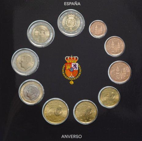 купить Испания набор евро 2018 BU (10 монет)