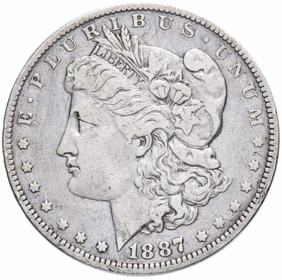 "купить США 1 доллар (dollar) 1887  ""Доллар Моргана"" ""O"""