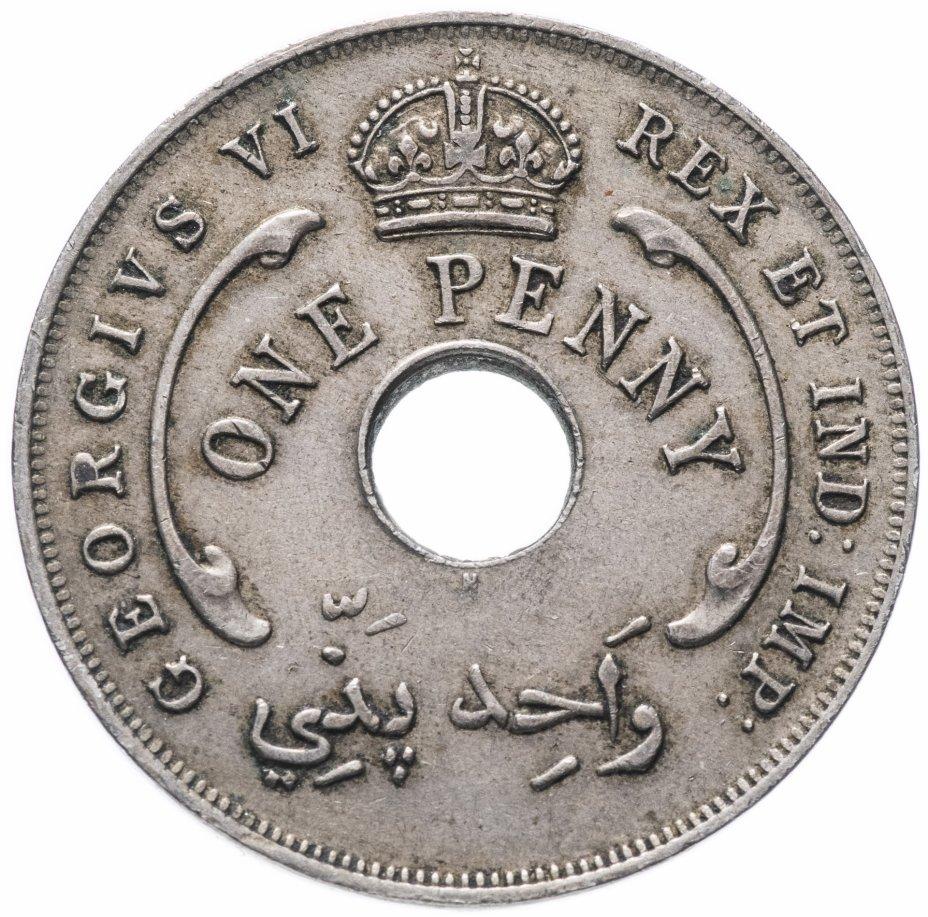 купить Британская Западная Африка 1 пенни 1937 H