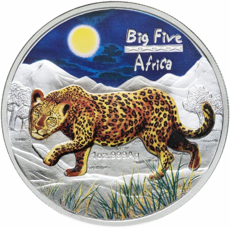 """купить Конго 240 франков 2008 UNC """"Большая пятёрка Африки - Леопард"""""""
