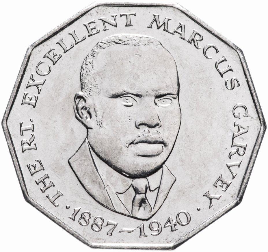 купить Ямайка 50 центов (cents) 1987 Маркус Гарви