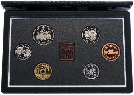 купить Япония набор монет 1995 Proof (6 монет)