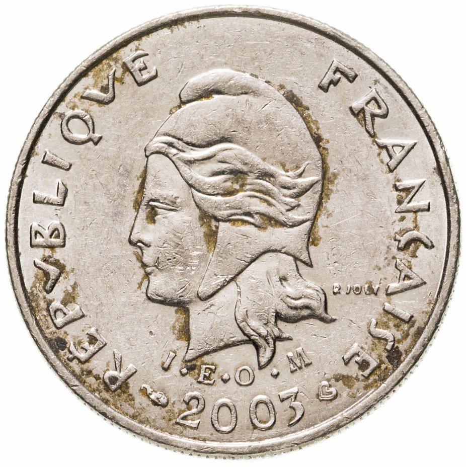 купить Новая Каледония 10 франков (francs) 2003