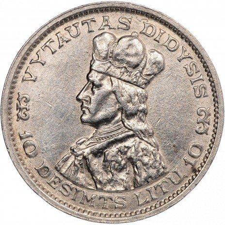 купить Литва 10 лит 1936