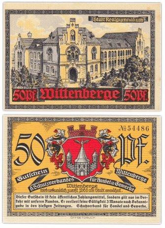 купить Германия (Виттенберг) 50 пфеннигов 1921 (Городская гимназия)