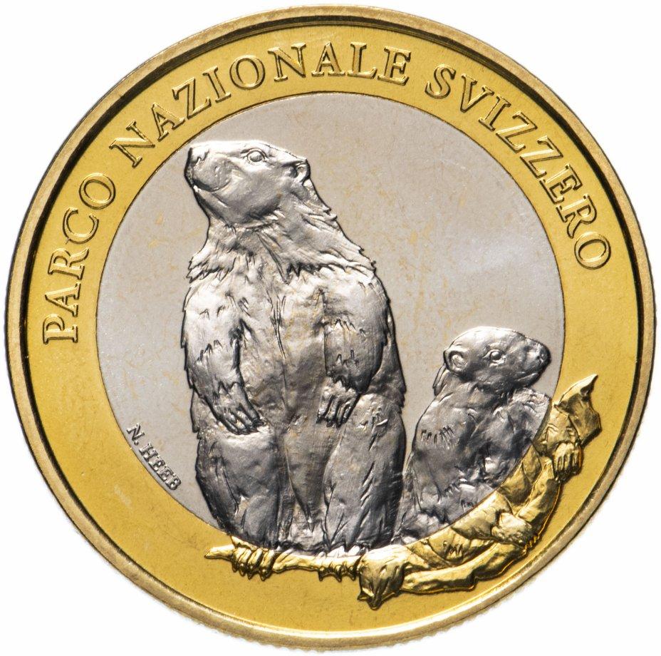 """купить Швейцария 10 франков (francs) 2010 """"Швейцарский национальный парк - альпийский сурок"""""""
