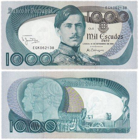 купить Португалия 1000 эскудо 1980 (Pick 175b) (16.09.1980)