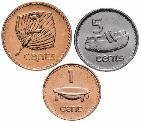 купить Фиджи набор монет 2001-2010 (3 штуки)