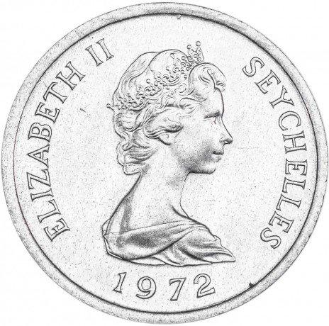 купить Сейшельские острова 1 цент 1972