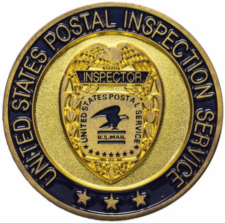 """купить Медаль """"United States Postal Inspection Service"""""""