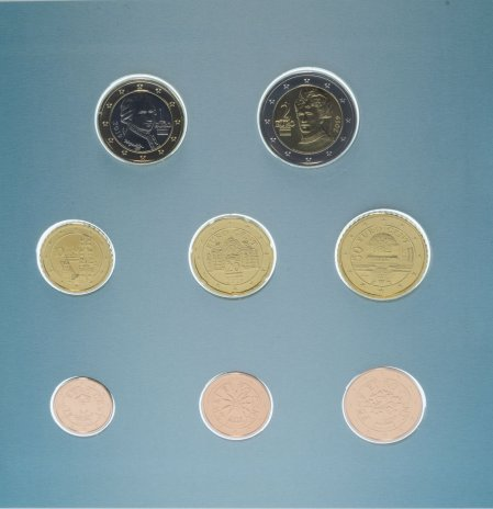 купить Австрия набор евро 2019 BU (8 монет)