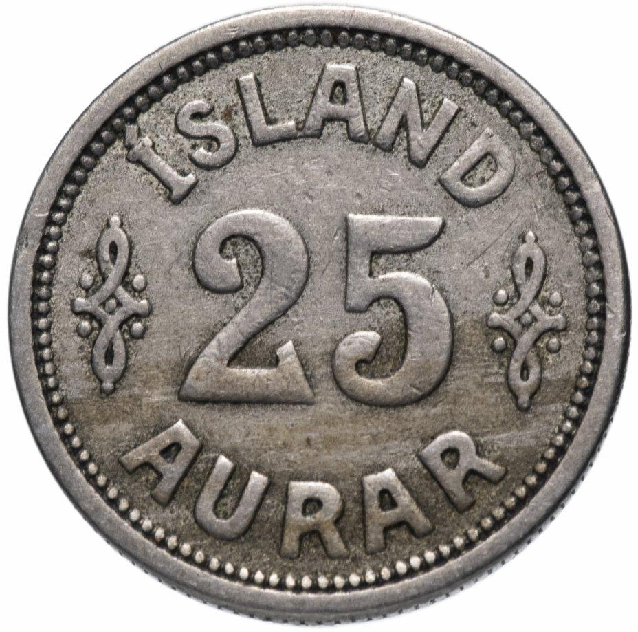 купить Исландия 25 эйре (aurar) 1923
