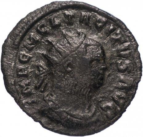 купить Римская Империя Тацит 275–276 гг антониниан (реверс: Летиция стоит, опираясь левой рукой на якорь)