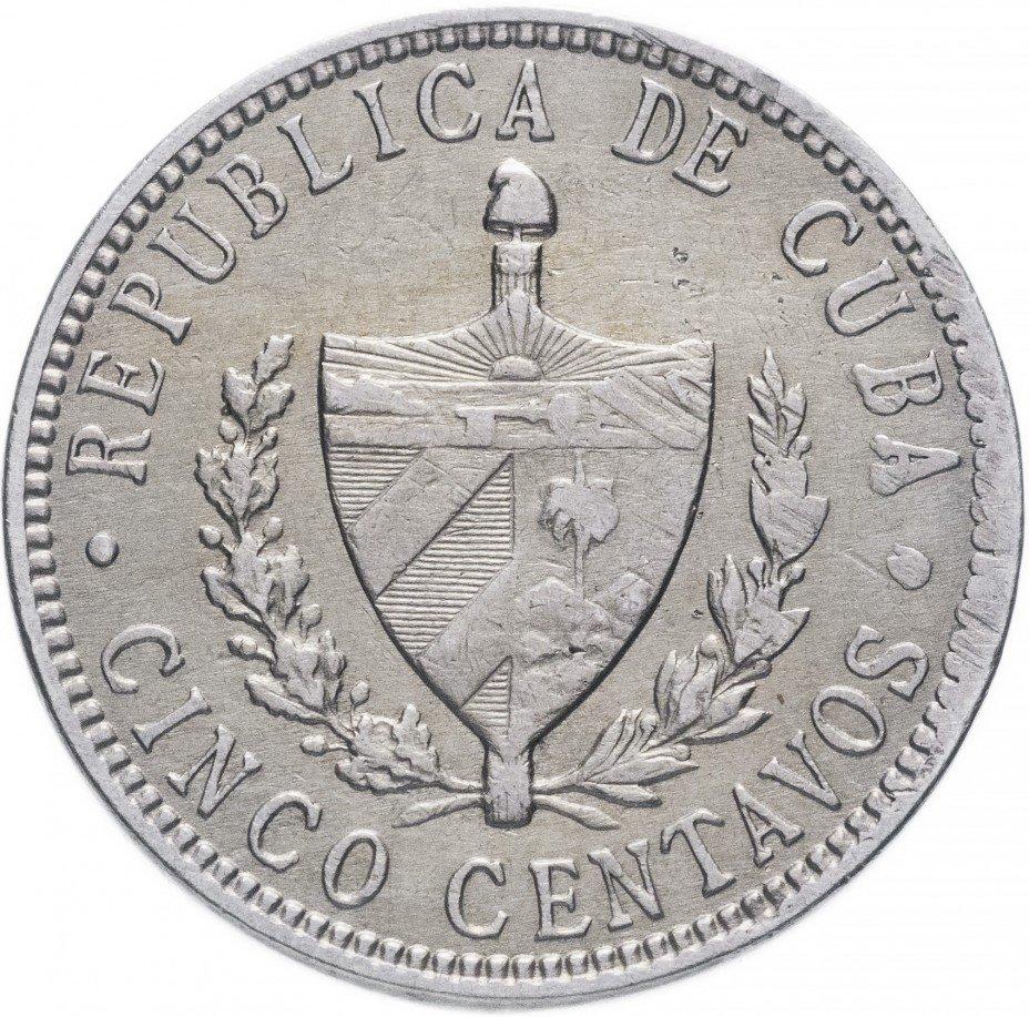 купить Куба 5 сентаво 1916