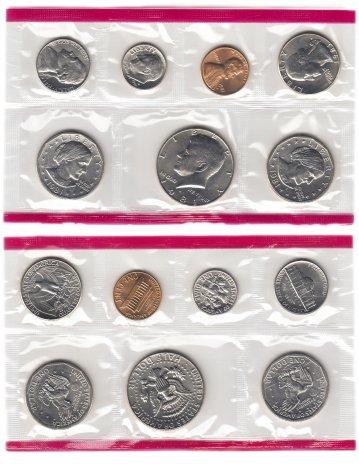 купить США годовой набор 1981 D (7 монет)