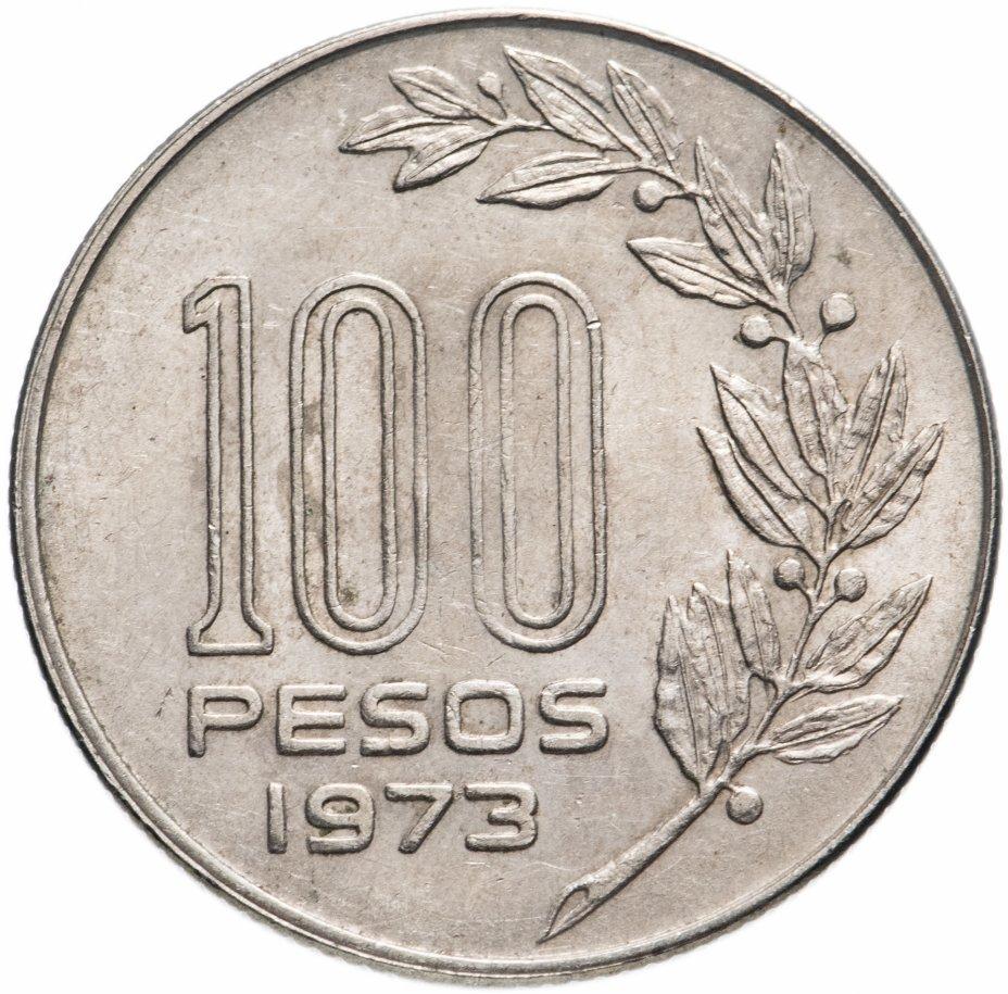 купить Уругвай 100 песо (pesos) 1973