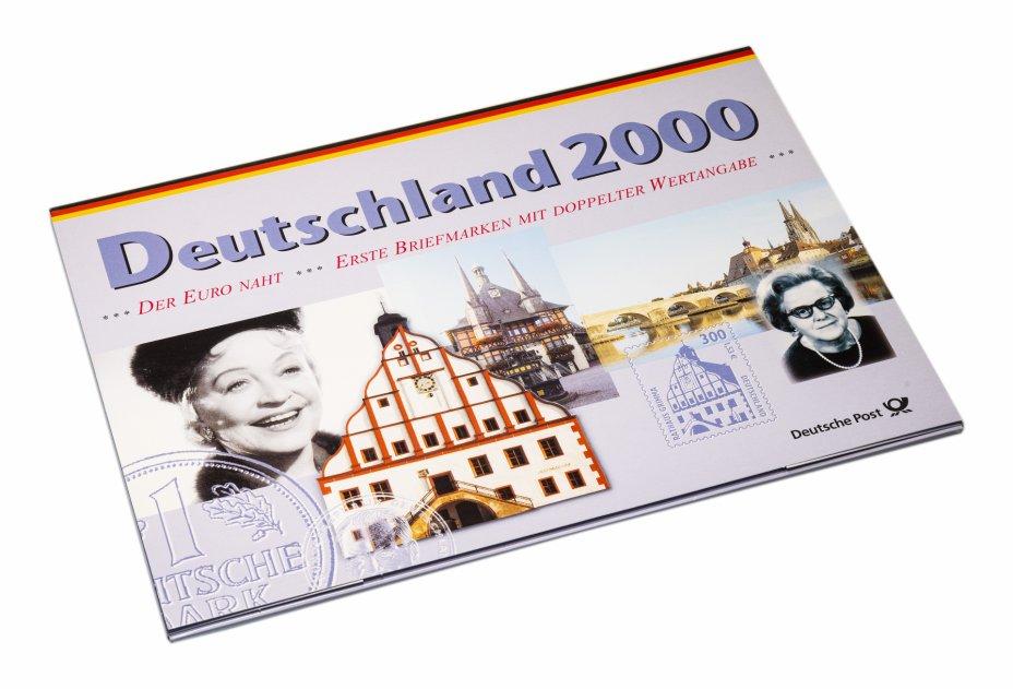 купить Германия полный годовой набор Deutsche Post 2000 из 10 монет, марок в специальном исполнении
