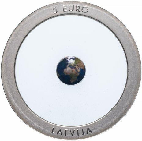 купить Латвия 5 евро 2016 Земля