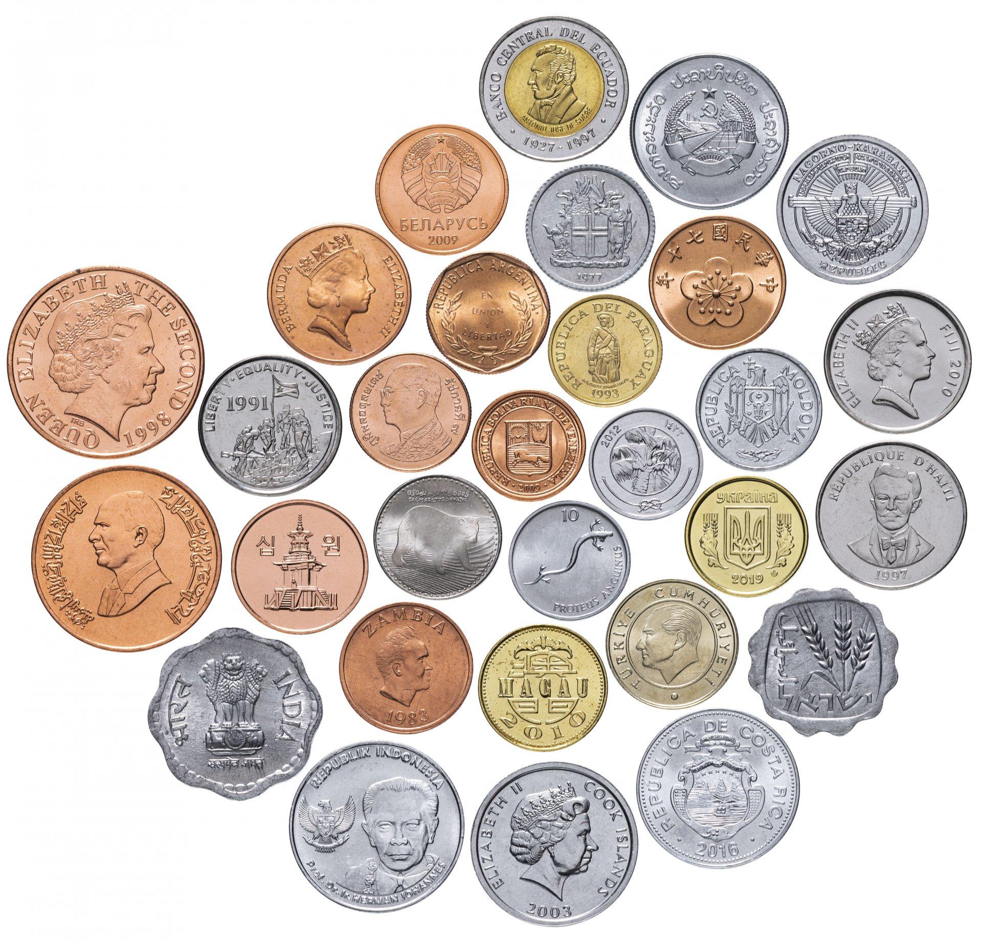 монеты других стран ценные в картинках материалов размещенных