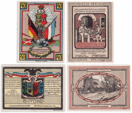купить Германия (Шлезвиг-Гольштейн: Фленсбург) набор из 2-х нотгельдов 1921
