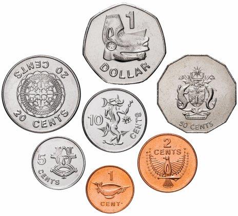 купить Соломоновы Острова набор монет 2005 года (7 штук)