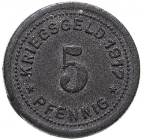 купить Германия, Охлигс 5 пфенниг 1917