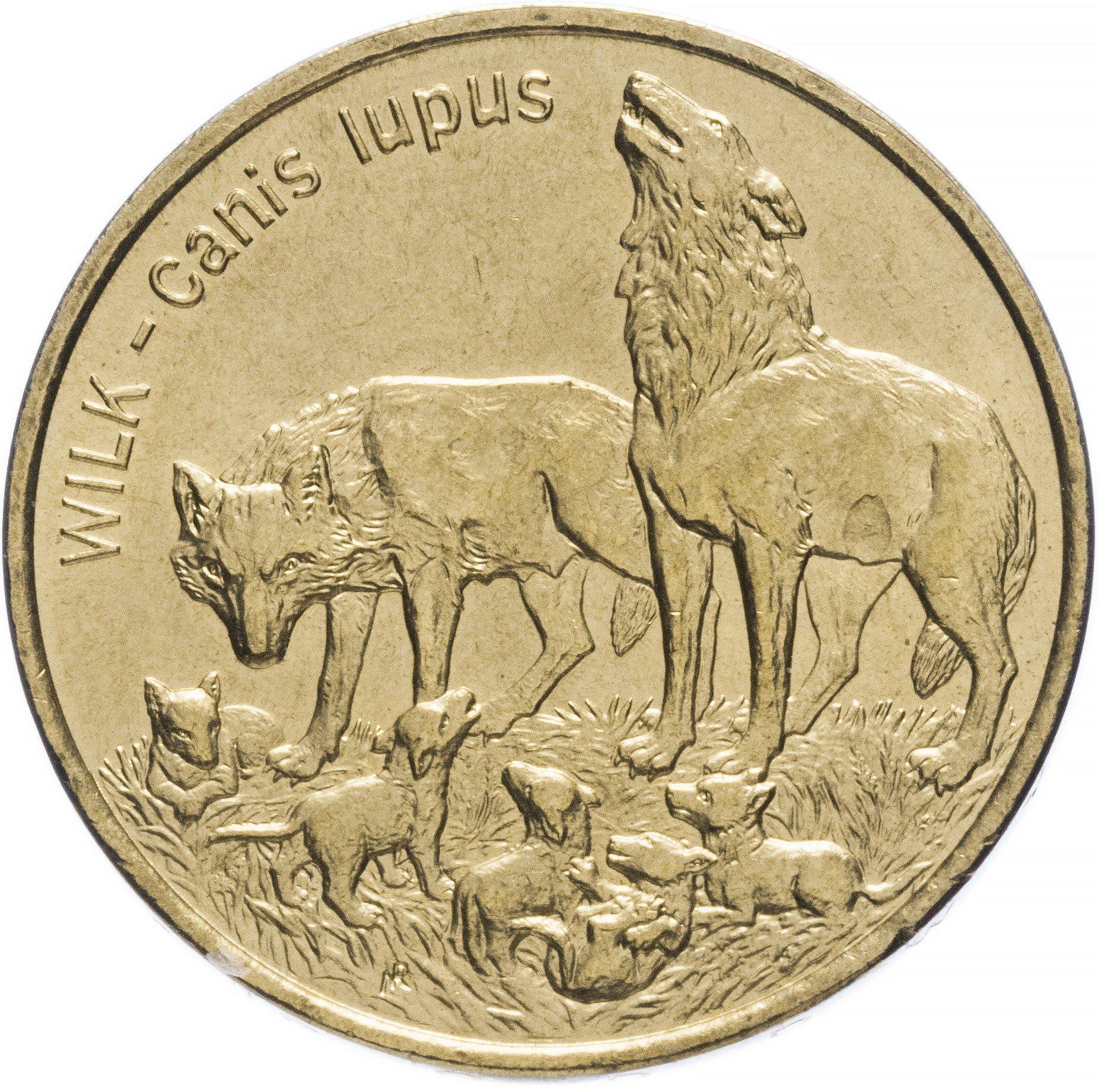 2 злотых волки стоимость советских денег