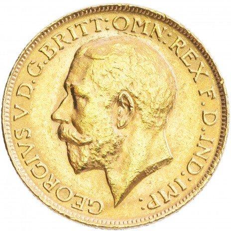 купить Великобритания 1 фунт (соверен) 1911