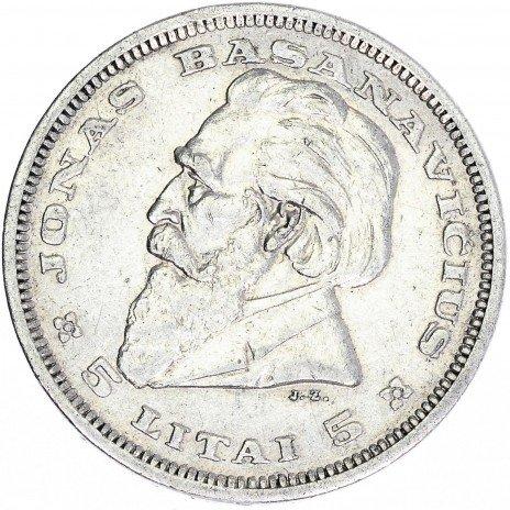 купить Литва 5 лит 1936
