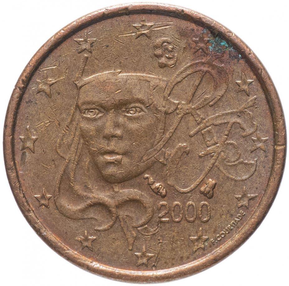 купить Франция 1 цент (cent) 1999-2019