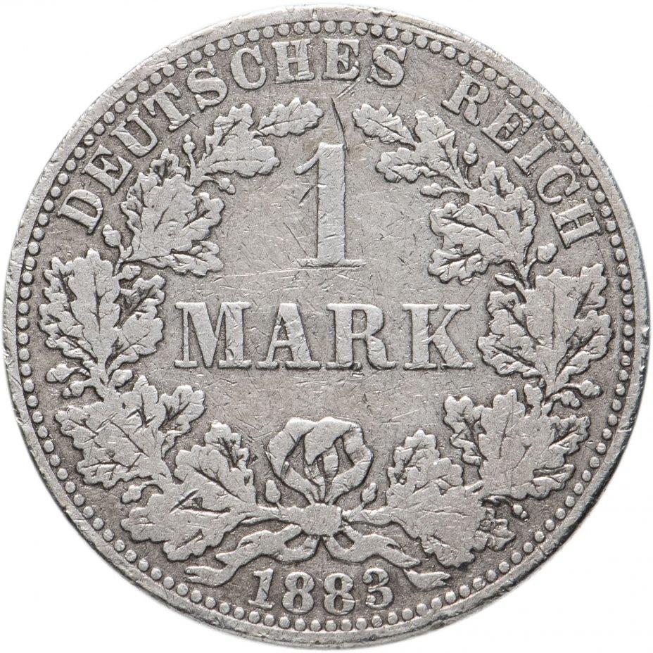 купить Германия 1 марка 1883 A