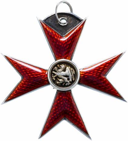 купить Орден Грифона (Мальтийский крест красной эмали с изображением грифона в центре)