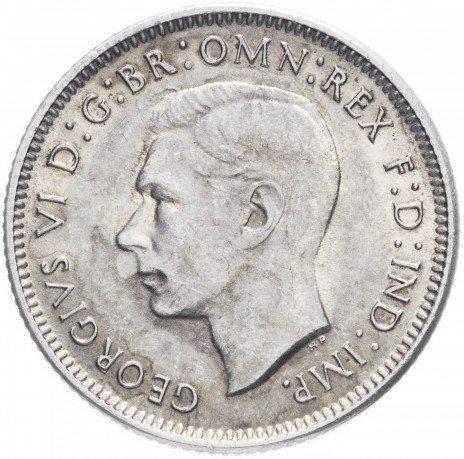купить Австралия 1 шиллинг 1943 S