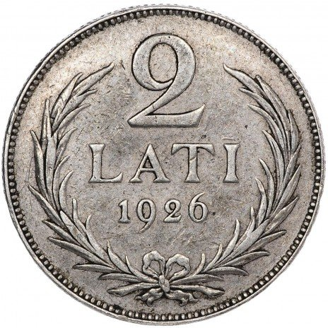 купить Латвия 2 лати 1926