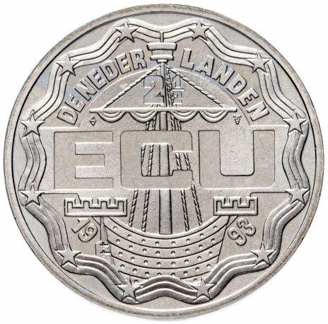 """купить Нидерланды 2,5 экю 1993 """"Маастрихтский договор"""""""