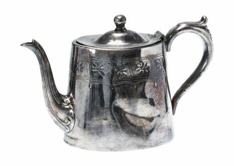 купить Чайник-кофейник, никель с серебрением, Великобритания, 1890-1900 гг.