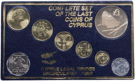 купить Кипр набор монет 1983-2004 (8 штук)