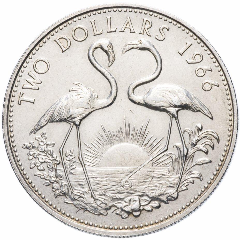 купить Багамские острова 2 доллара (dollars) 1966-1973, случайный год