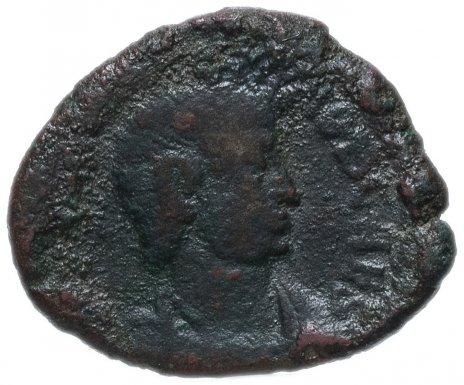 купить Римская Империя, император не установлен, фракция фоллиса (реверс: фигура стоит влево, держит шар и копье)