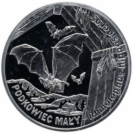 """купить Польша 20 злотых 2010 """"Всемирная природа - Летучая мышь"""""""