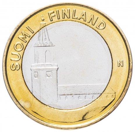 """купить Финляндия 5 евро 2013 """"Исконная Финляндия"""""""