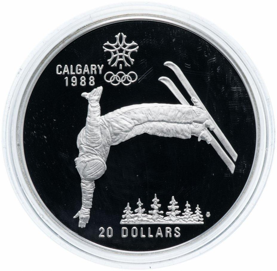 """купить Канада 20 долларов 1986 """"XV зимние Олимпийские игры в Калгари - Фристайл"""""""