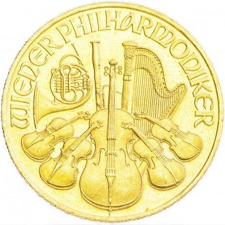 купить Австрия 500 шиллингов 1989 «Венская филармония» (филармоникер)